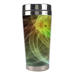 Yellow Smoke Stainless Steel Travel Tumblers by BangZart