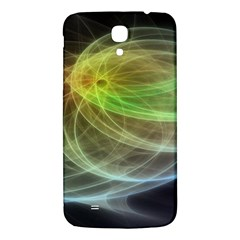 Yellow Smoke Samsung Galaxy Mega I9200 Hardshell Back Case by BangZart