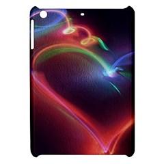 Neon Heart Apple Ipad Mini Hardshell Case by BangZart