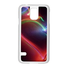 Neon Heart Samsung Galaxy S5 Case (white) by BangZart