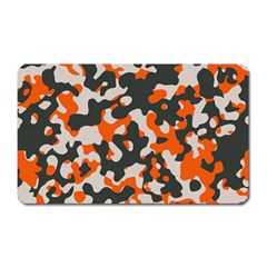 Camouflage Texture Patterns Magnet (rectangular) by BangZart