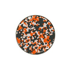 Camouflage Texture Patterns Hat Clip Ball Marker (4 Pack) by BangZart