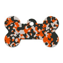 Camouflage Texture Patterns Dog Tag Bone (two Sides) by BangZart