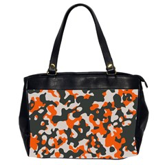 Camouflage Texture Patterns Office Handbags (2 Sides)  by BangZart