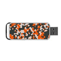 Camouflage Texture Patterns Portable Usb Flash (two Sides) by BangZart