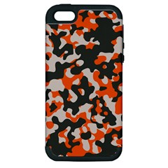 Camouflage Texture Patterns Apple Iphone 5 Hardshell Case (pc+silicone) by BangZart