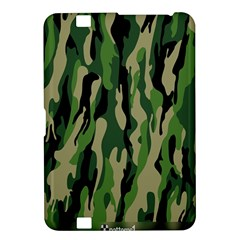 Green Military Vector Pattern Texture Kindle Fire Hd 8 9  by BangZart