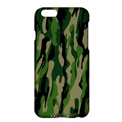 Green Military Vector Pattern Texture Apple Iphone 6 Plus/6s Plus Hardshell Case by BangZart
