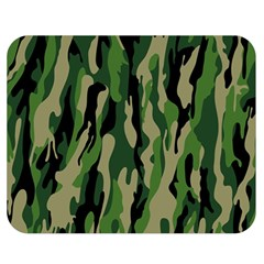 Green Military Vector Pattern Texture Double Sided Flano Blanket (medium)  by BangZart