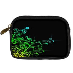Abstract Colorful Plants Digital Camera Cases by BangZart