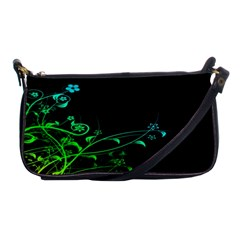 Abstract Colorful Plants Shoulder Clutch Bags by BangZart