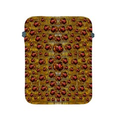 Angels In Gold And Flowers Of Paradise Rocks Apple Ipad 2/3/4 Protective Soft Cases by pepitasart