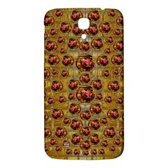 Angels In Gold And Flowers Of Paradise Rocks Samsung Galaxy Mega I9200 Hardshell Back Case by pepitasart