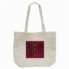 Ladybug In The Forest Of Fantasy Tote Bag (cream) by pepitasart