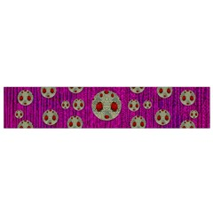 Ladybug In The Forest Of Fantasy Flano Scarf (small) by pepitasart