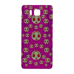 Ladybug In The Forest Of Fantasy Samsung Galaxy Alpha Hardshell Back Case by pepitasart