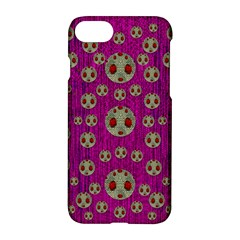Ladybug In The Forest Of Fantasy Apple Iphone 7 Hardshell Case by pepitasart