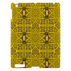 Stars And Flowers In The Forest Of Paradise Love Popart Apple Ipad 3/4 Hardshell Case by pepitasart