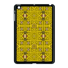 Stars And Flowers In The Forest Of Paradise Love Popart Apple Ipad Mini Case (black) by pepitasart