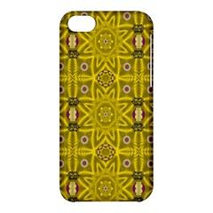 Stars And Flowers In The Forest Of Paradise Love Popart Apple Iphone 5c Hardshell Case by pepitasart