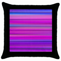 Cool Abstract Lines Throw Pillow Case (black) by BangZart
