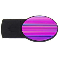 Cool Abstract Lines Usb Flash Drive Oval (2 Gb)