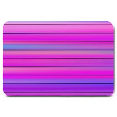 Cool Abstract Lines Large Doormat  by BangZart