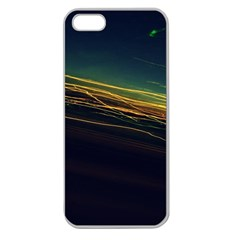 Night Lights Apple Seamless Iphone 5 Case (clear)