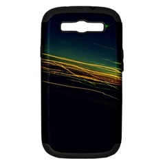 Night Lights Samsung Galaxy S Iii Hardshell Case (pc+silicone) by BangZart
