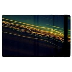 Night Lights Apple Ipad Pro 9 7   Flip Case