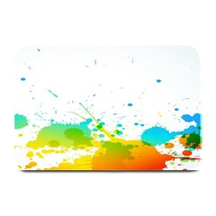 Colorful Abstract Plate Mats by BangZart