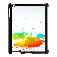 Colorful Abstract Apple Ipad 3/4 Case (black) by BangZart