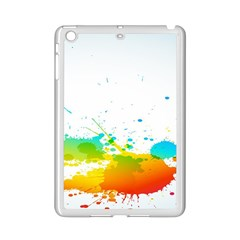 Colorful Abstract Ipad Mini 2 Enamel Coated Cases by BangZart