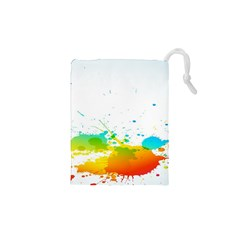 Colorful Abstract Drawstring Pouches (xs)  by BangZart