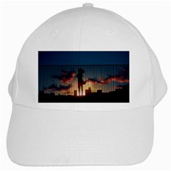 Art Sunset Anime Afternoon White Cap by BangZart