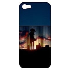 Art Sunset Anime Afternoon Apple Iphone 5 Hardshell Case by BangZart
