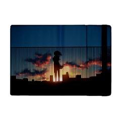 Art Sunset Anime Afternoon Apple Ipad Mini Flip Case by BangZart