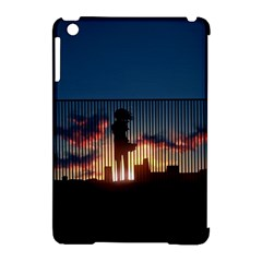 Art Sunset Anime Afternoon Apple Ipad Mini Hardshell Case (compatible With Smart Cover) by BangZart