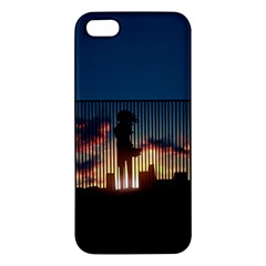 Art Sunset Anime Afternoon Iphone 5s/ Se Premium Hardshell Case by BangZart