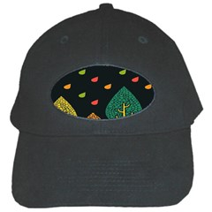 Vector Color Tree Black Cap by BangZart