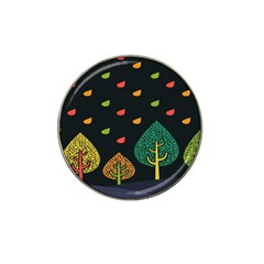 Vector Color Tree Hat Clip Ball Marker by BangZart