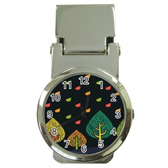Vector Color Tree Money Clip Watches by BangZart