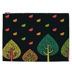 Vector Color Tree Cosmetic Bag (xxl)  by BangZart