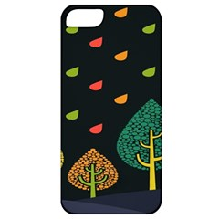 Vector Color Tree Apple Iphone 5 Classic Hardshell Case by BangZart
