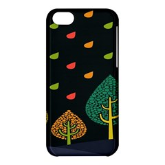 Vector Color Tree Apple Iphone 5c Hardshell Case by BangZart