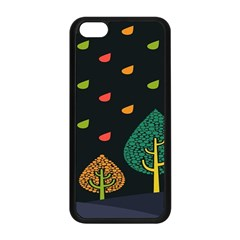 Vector Color Tree Apple Iphone 5c Seamless Case (black) by BangZart