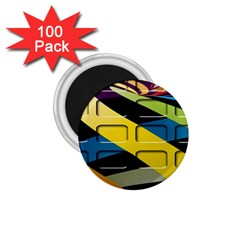 Colorful Docking Frame 1 75  Magnets (100 Pack)  by BangZart