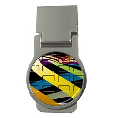Colorful Docking Frame Money Clips (round)  by BangZart