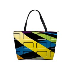 Colorful Docking Frame Shoulder Handbags by BangZart