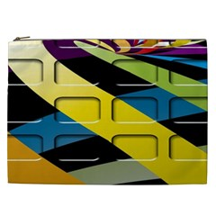 Colorful Docking Frame Cosmetic Bag (xxl)  by BangZart